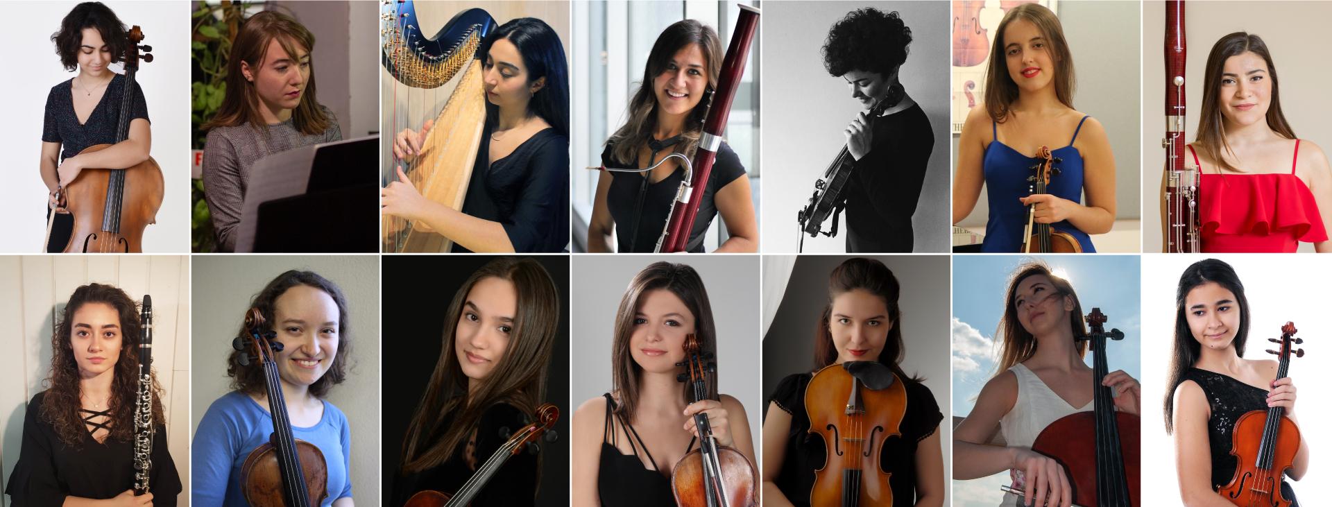47. İstanbul Müzik festivali '' Yarının Kadın Yıldızları ''
